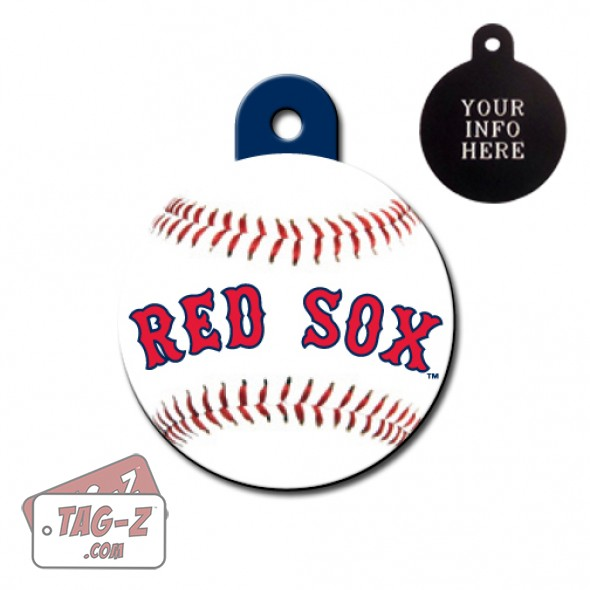 Boston Red Sox MLB Pet Tag