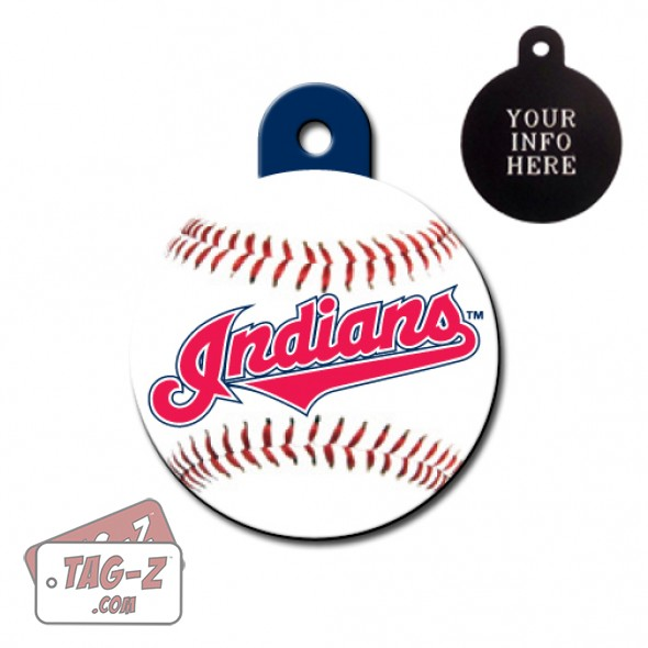 Cleveland Indians MLB Pet Tag