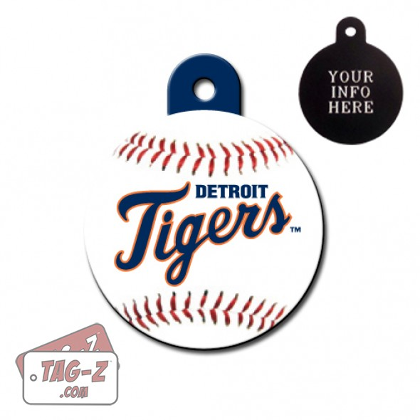 Detroit Tigers MLB Pet Tag