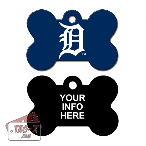 Tag-Z Wag-Z Detroit Tigers MLB Pet Tag