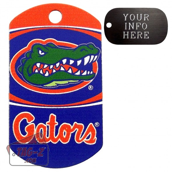 Florida Gators NCAA Pet Tag