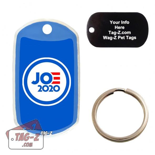 Joe Biden Custom ENGRAVED Pet Tag Tag-Z
