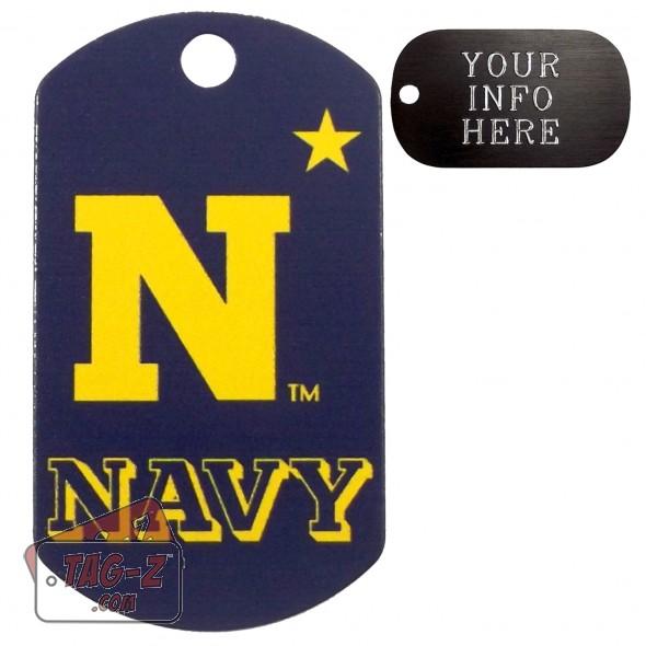 United States Naval Academy Midshipmen NCAA Pet Tag