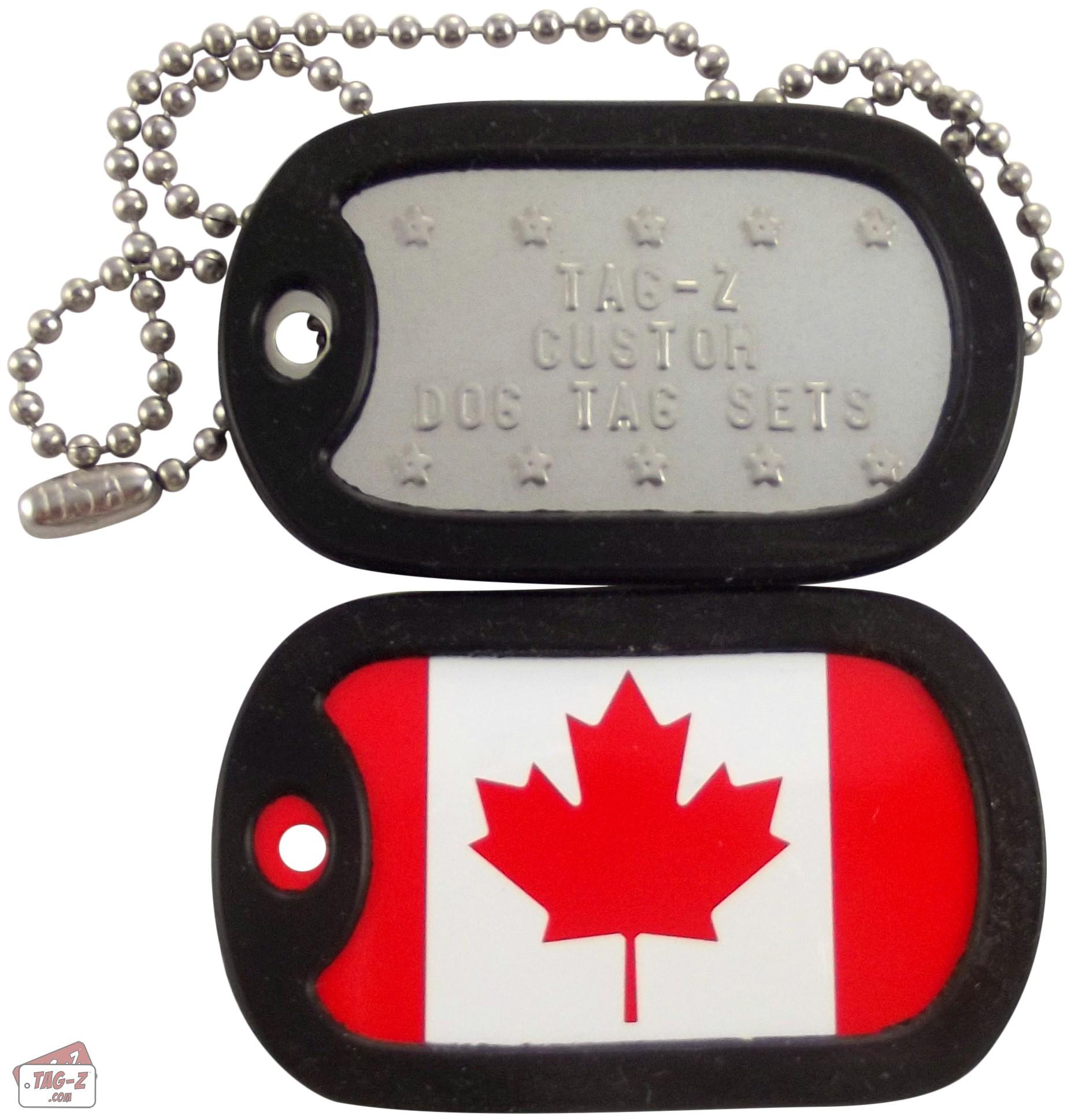 Custom Military Dog Tags Canada
