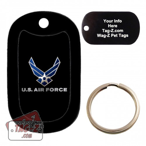 Air Force Custom ENGRAVED Pet Tag