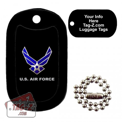 Air Force Logo LUGGAGE TAG Tag-Z