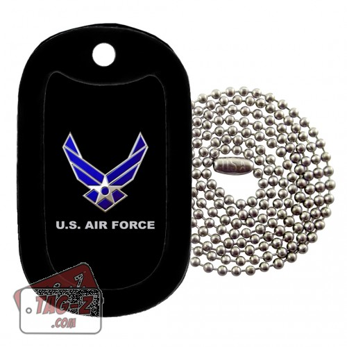 Tag-Z U.S. Air Force Dog Tag Necklace