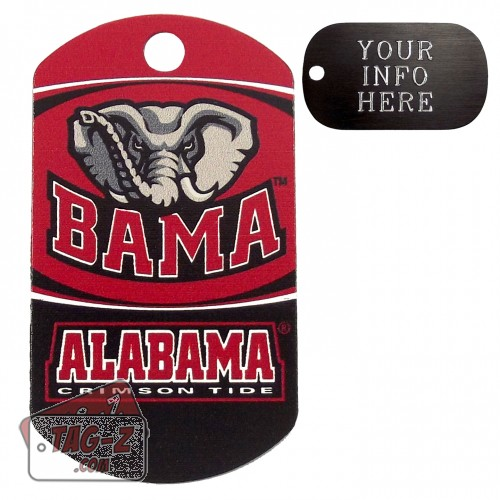 Alabama Crimson Tide NCAA Pet Tag