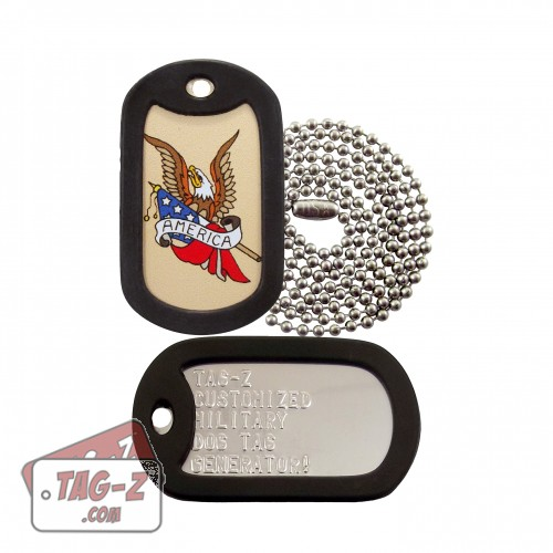 America Eagle Tagtoo-Z Dog Tag Set