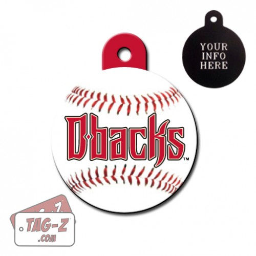 Arizona Diamondbacks MLB Pet Tag