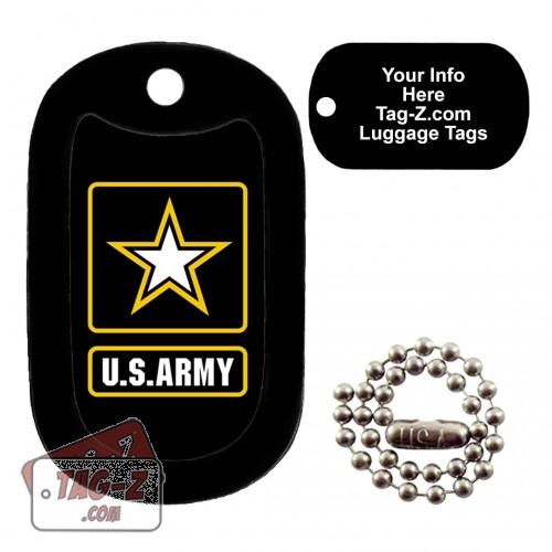 Army Logo LUGGAGE TAG Tag-Z