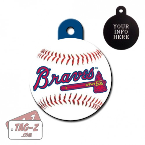 Atlanta Braves MLB Pet Tag