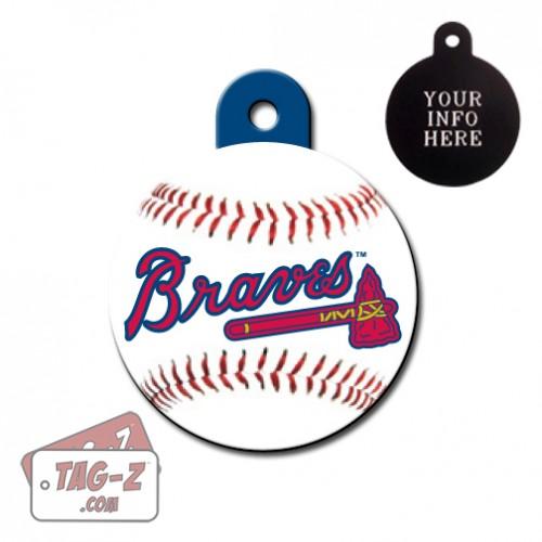Atlanta Braves MLB Pet Tag