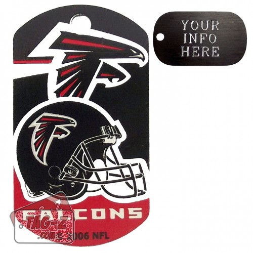 Atlanta Falcons NFL Pet Tag