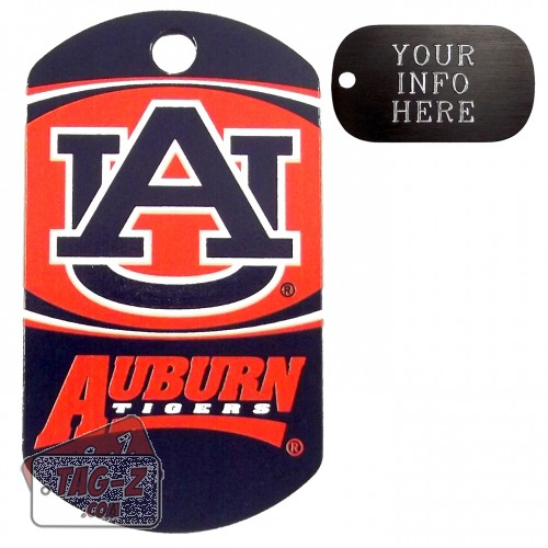 Auburn Tigers NCAA Pet Tag
