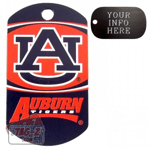 Auburn Tigers NCAA Pet Tag