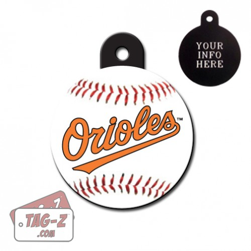 Baltimore Orioles MLB Pet Tag