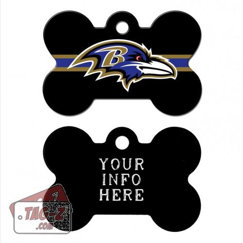 Tag-Z Wag-Z Baltimore Ravens NFL Pet Tag