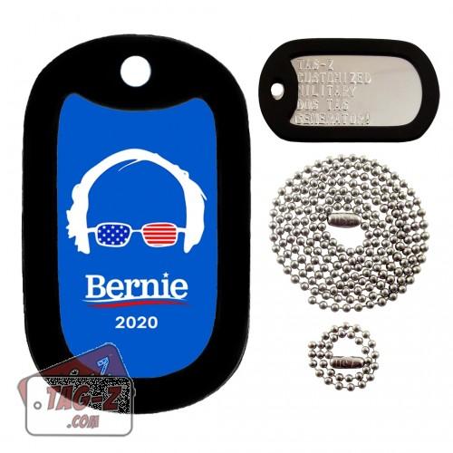 Bernie Sanders Dog Tag Full Set Tag-Z