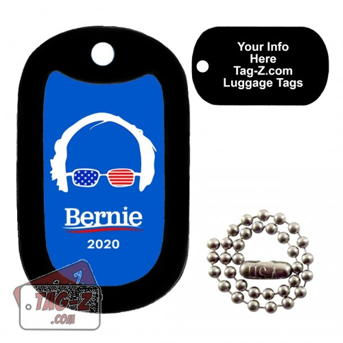 Bernie Sanders LUGGAGE TAG Tag-Z