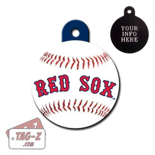 Boston Red Sox MLB Pet Tag