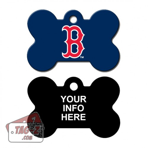 Tag-Z Wag-Z Boston Red Sox MLB Pet Tag