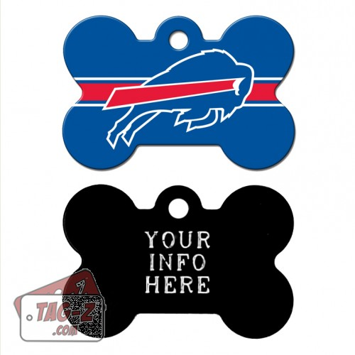 Tag-Z Wag-Z Buffalo Bills NFL Pet Tag
