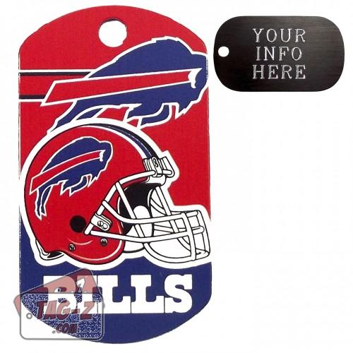 Buffalo Bills NFL Pet Tag