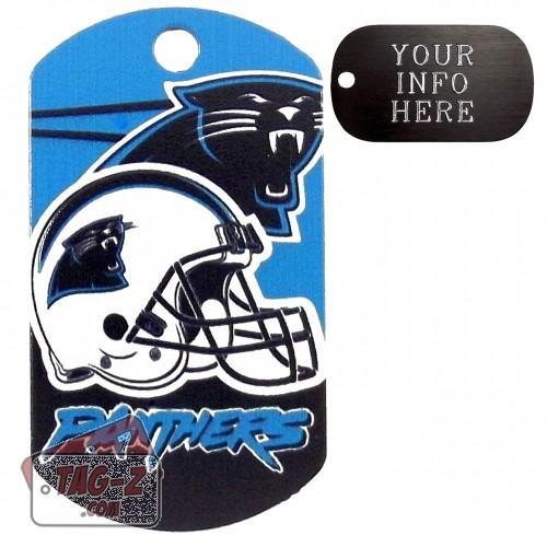 Carolina Panthers NFL Pet Tag