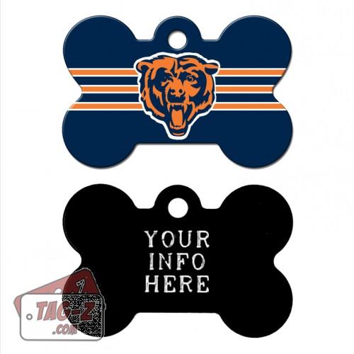 Tag-Z Wag-Z Chicago Bears NFL Pet Tag