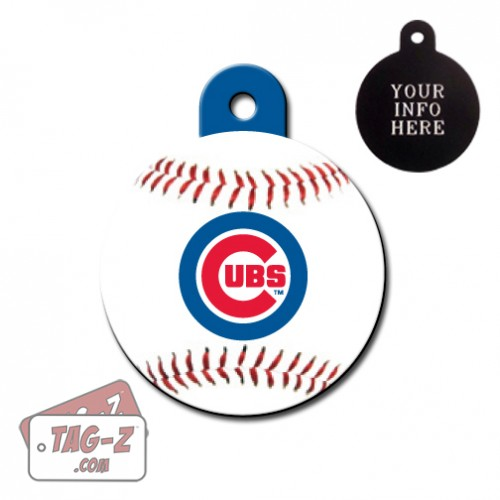 Chicago Cubs MLB Pet Tag