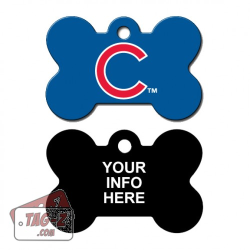 Tag-Z Wag-Z Chicago Cubs MLB Pet Tag