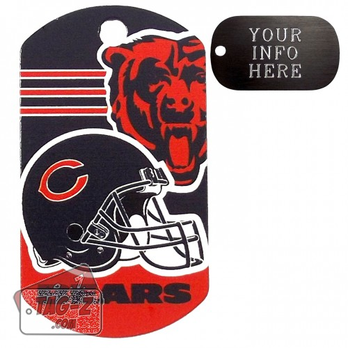 Chicago Bears NFL Pet Tag