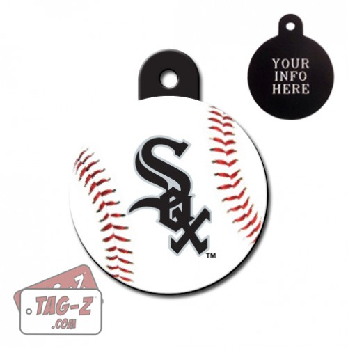 Chicago White Sox MLB Pet Tag