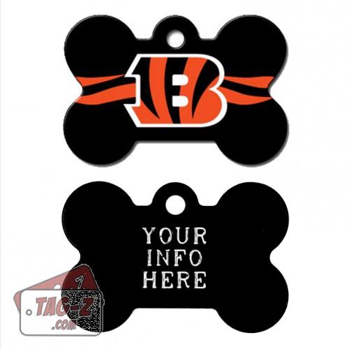Tag-Z Wag-Z Cincinnati Bengals NFL Pet Tag