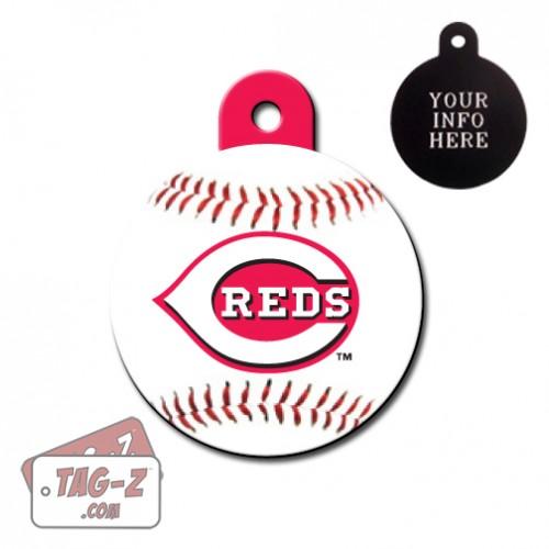 Cincinnati Reds MLB Pet Tag