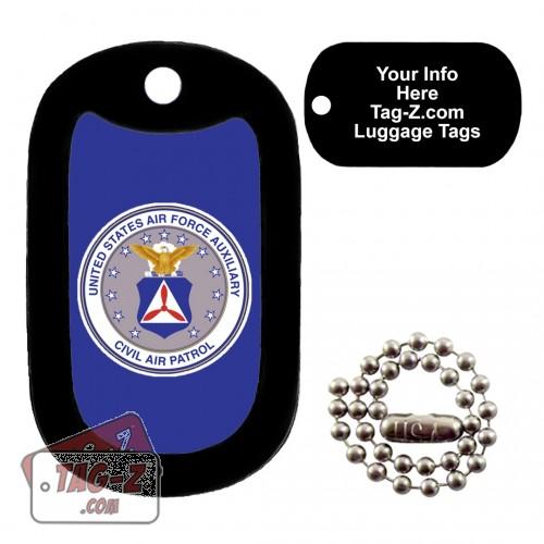Civil Air Patrol Logo LUGGAGE TAG Tag-Z