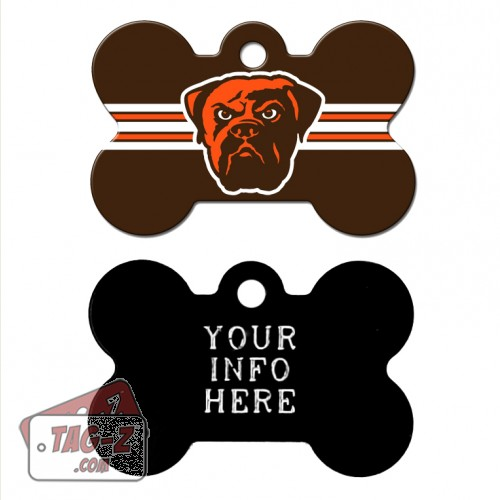 Tag-Z Wag-Z Cleveland Browns NFL Pet Tag