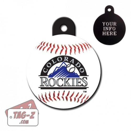 Colorado Rockies MLB Pet Tag