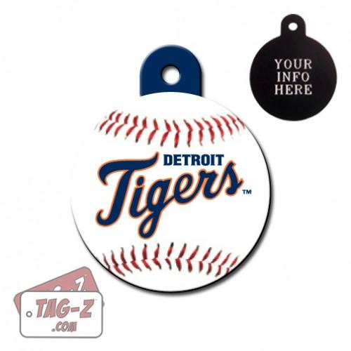 Detroit Tigers MLB Pet Tag