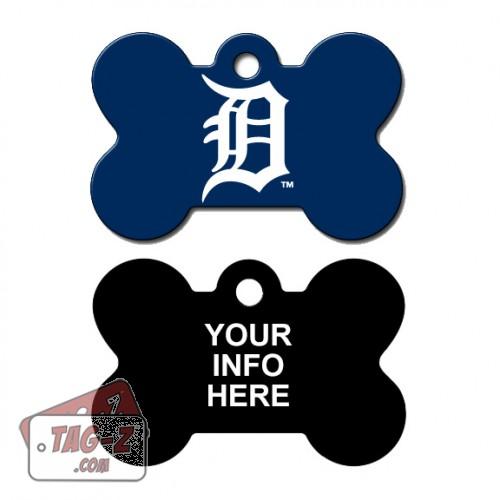 Tag-Z Wag-Z Detroit Tigers MLB Pet Tag