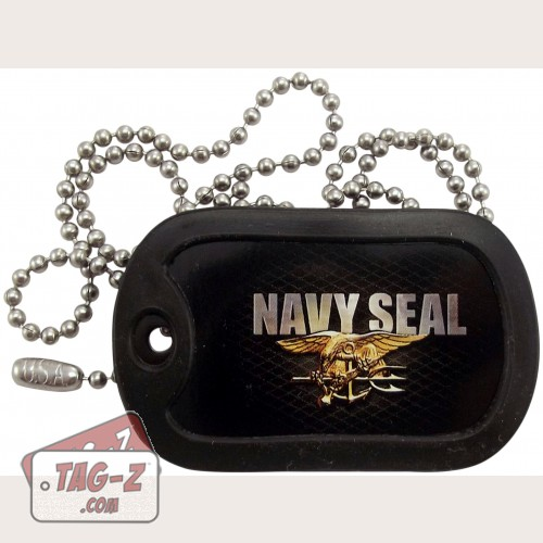 Tag-Z U.S. Navy Seal Dog Tag Necklace
