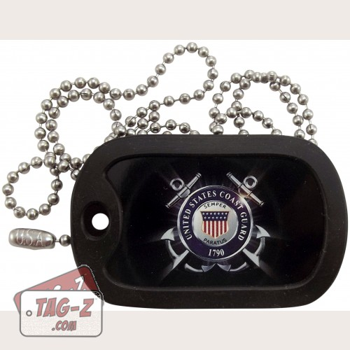 Tag-Z U.S. Coast Guard Dog Tag Necklace