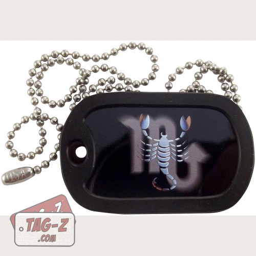 Tag-Z Scorpio Dog Tag Necklace