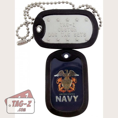 Tag-Z U.S. Navy Dog Tag Set