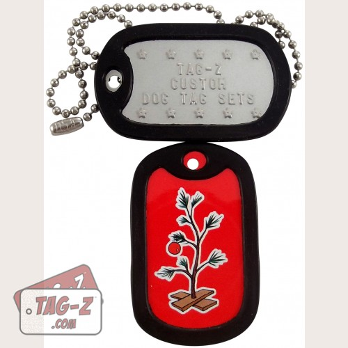Tag-Z Christmas Tree Dog Tag Set