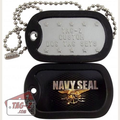 Tag-Z U.S. Navy Seal Dog Tag Set