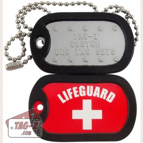 Tag-Z Lifeguard Dog Tag Set
