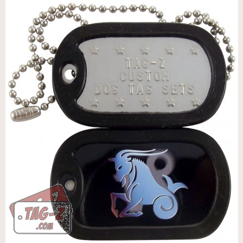 Tag-Z Capricorn Dog Tag Set