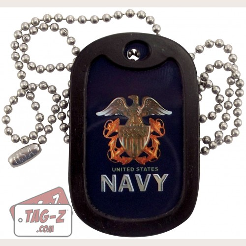 Tag-Z U.S. Navy Dog Tag Necklace